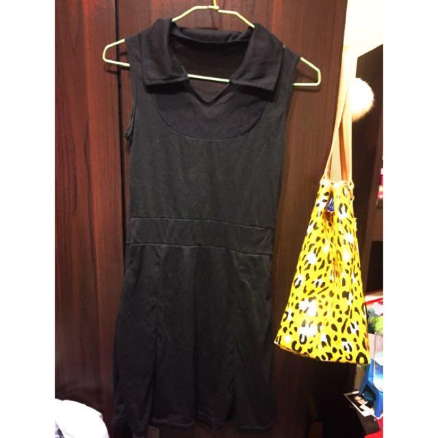 夏季性感薄紗洋裝
