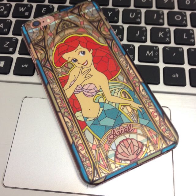 現貨  美人魚公主浮雕手機殼