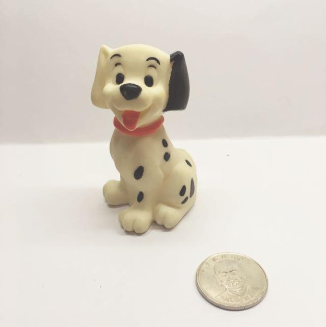 (售完)迪士尼 軟乙烯基 玩具 小鞥101忠狗