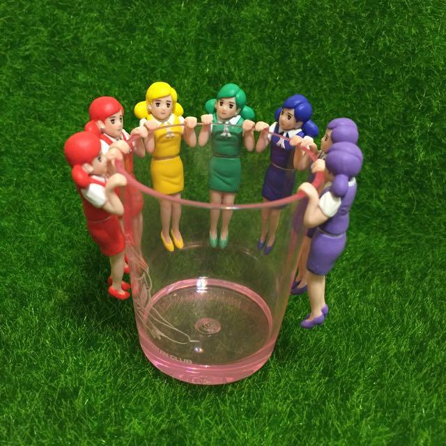 彩虹 彩色 杯緣子❤️