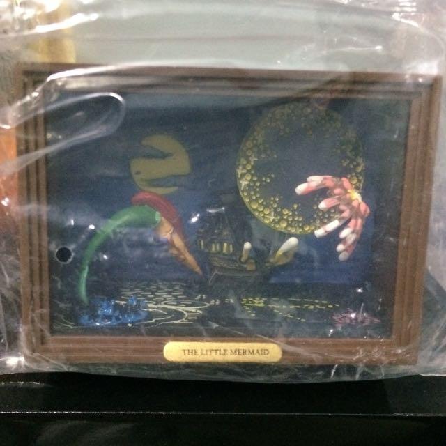 迪士尼 美人魚 絕版櫥窗 扭蛋