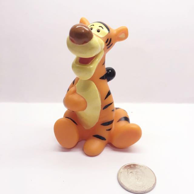 (售完)迪士尼 軟乙烯基 玩具 跳跳虎