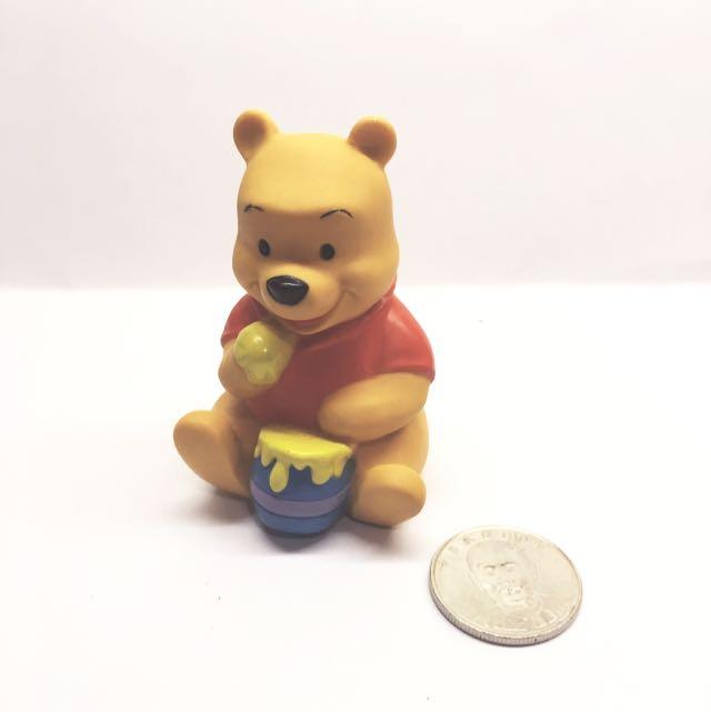 (售完)迪士尼 軟乙烯基 玩具 小熊維尼