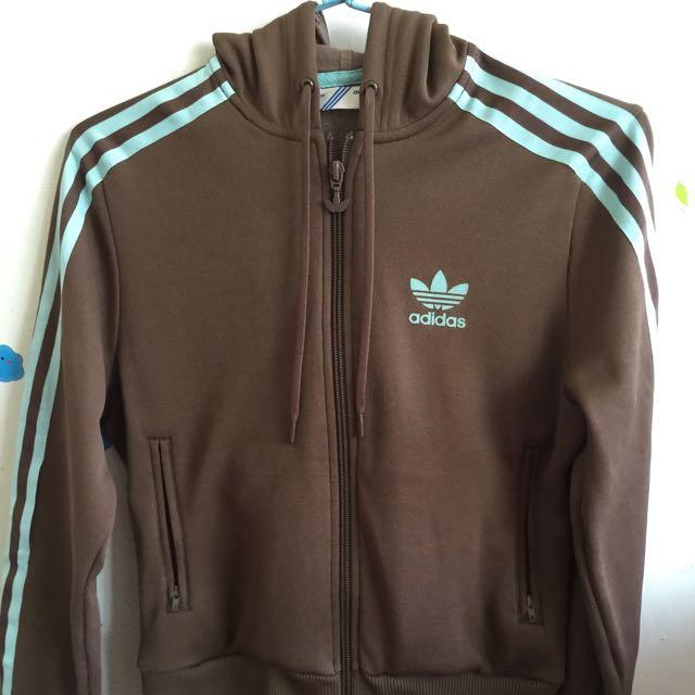 Adidas 復古經典款短版運動外套