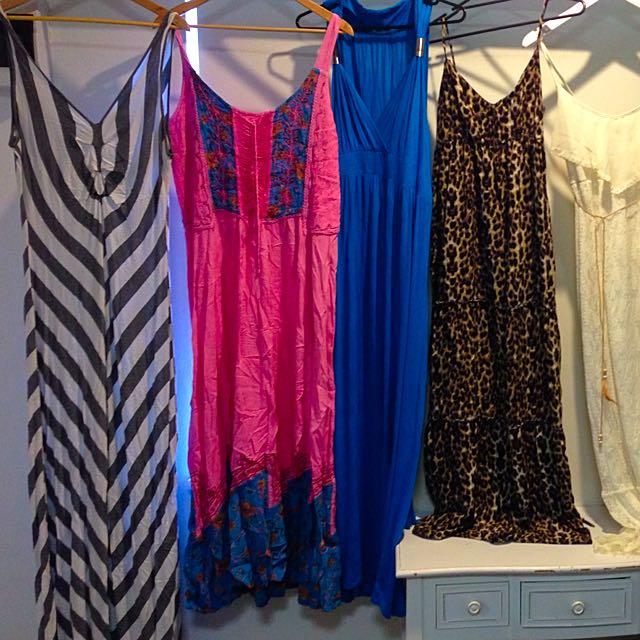 Assorted Maxi Dresses Size 14
