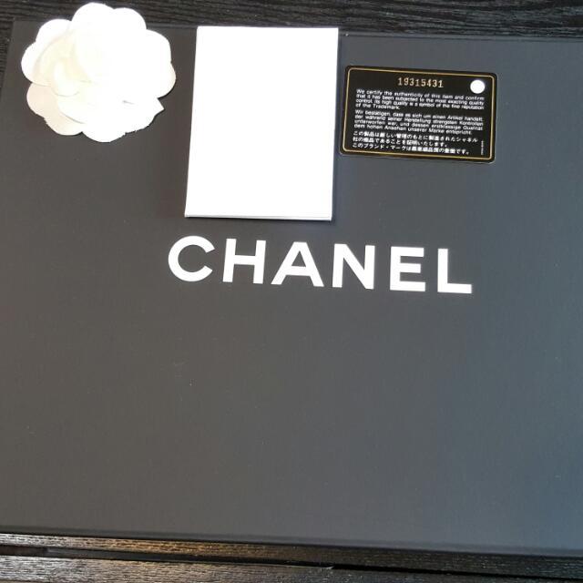 Chanel經典co co荔枝紋金鍊肩背包
