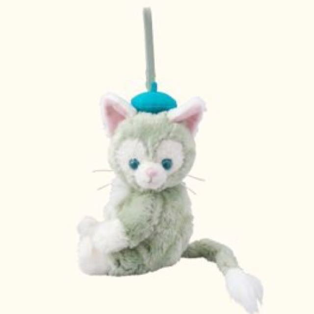 Disney Sea日本海洋迪士尼限定Gelatoni畫家貓側掛包、手提包-達菲&雪莉梅