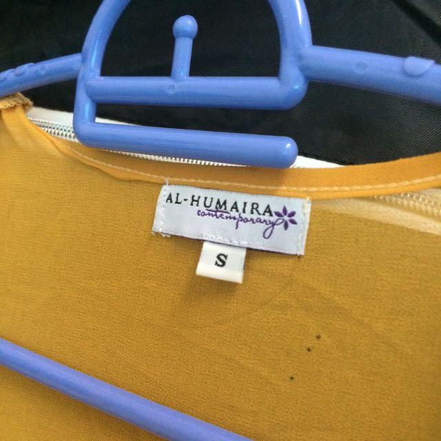 Fishtail Blouse Al Humaira