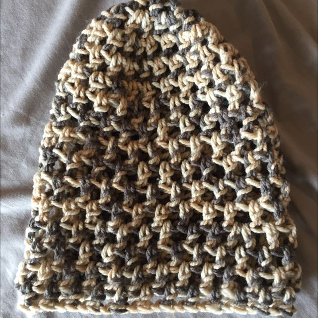 Handmade Chunky Crochet Beanie