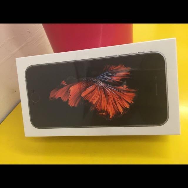 iPhone 6s 16g太空灰 全新未拆公司貨