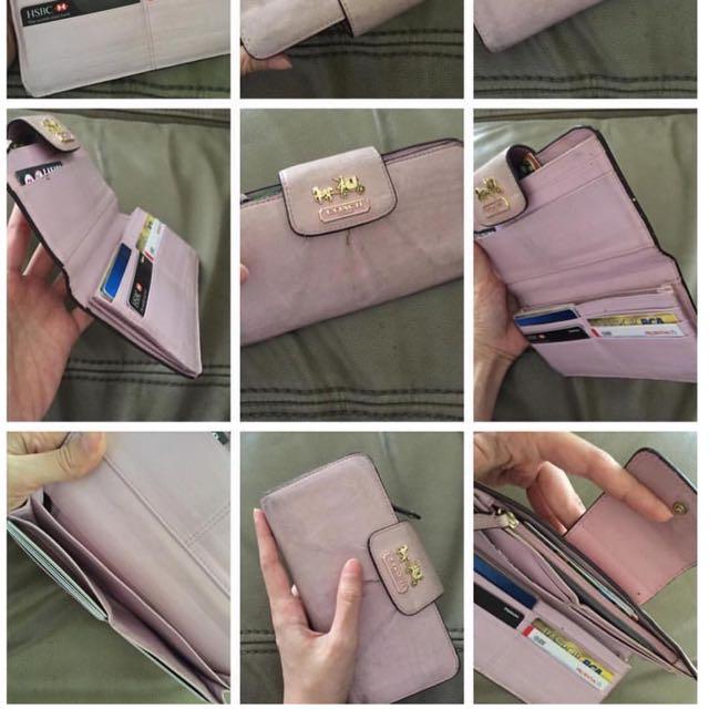 long wallet COACH AUTHENTIC ‼️