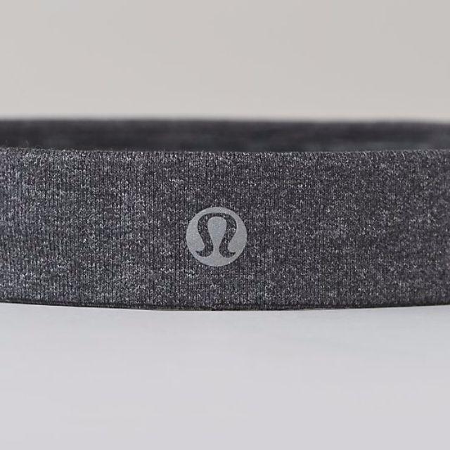lululemon headband 粉膚色 灰色