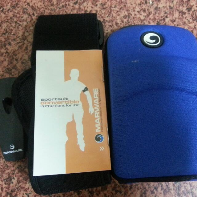 Marware wrist cellphone case for iphone 4 and 4s