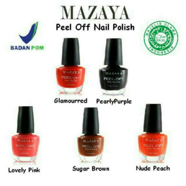 Mazaya Peel Off Nail Polish