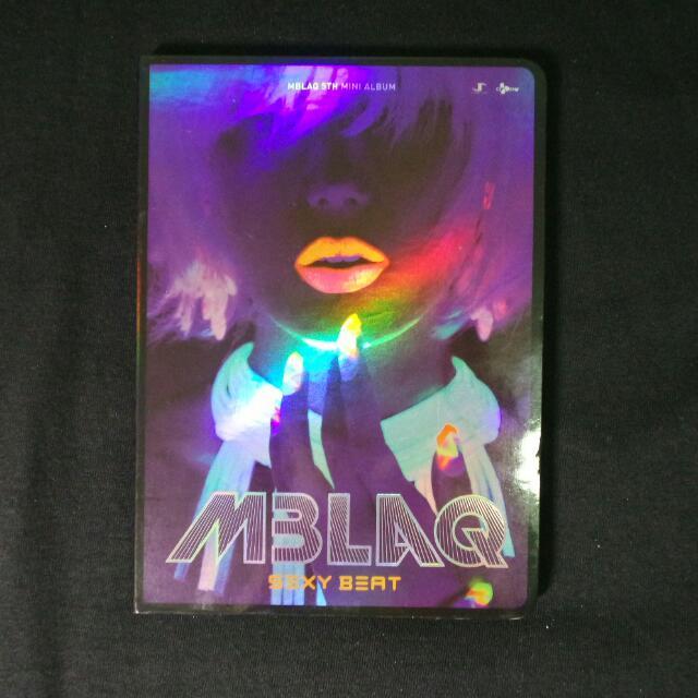 MBLAQ sexy beat💖