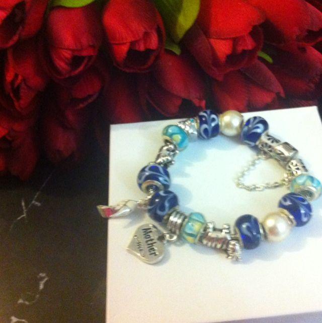 Mothers Day Charm Bracelet