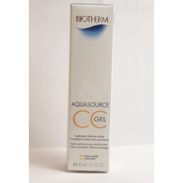 NEW Biotherm Aquasource CC Gel - # Fair Skin 30ml rrp$47