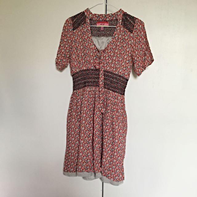Pink Vintage Style Dress