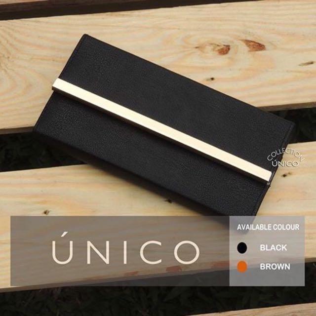Platted Wallet Black