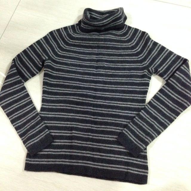 Sportscraft Merino Wool Turtle Neck Top Size 6