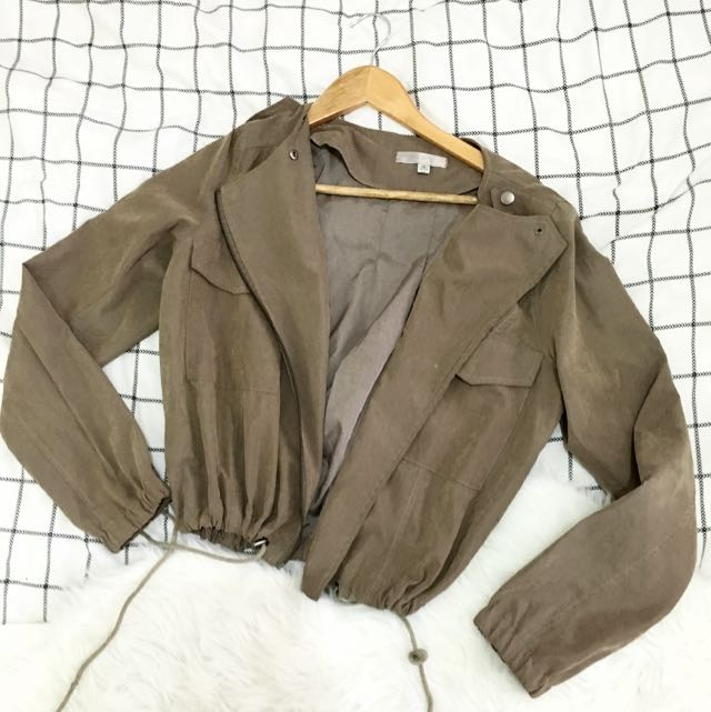 Suede Jacket Tempt