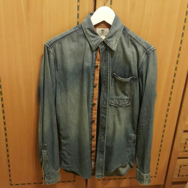 Timberland牛仔襯衫