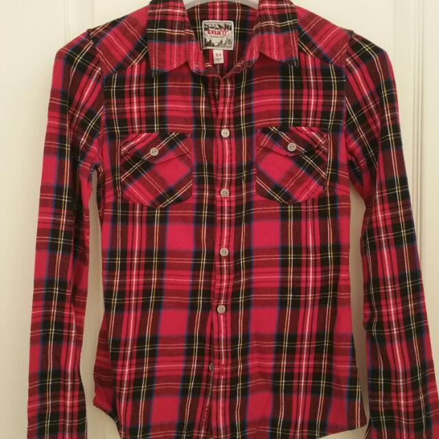 TNA Flannel Shirt