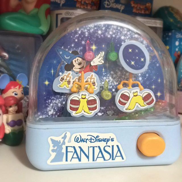 TOMY 迪士尼 魔法米奇 水中套圈圈遊戲 玩具