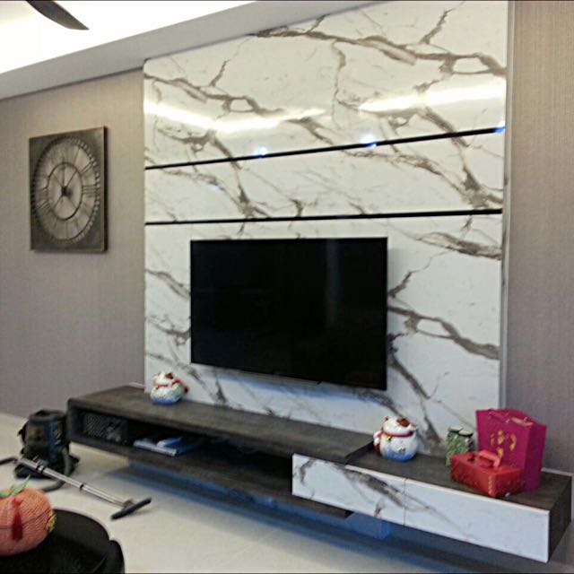 Tv Console Feature Wall Home Furniture Furniture On