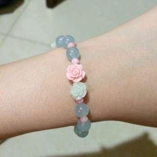 Pastel Rose Bracelet