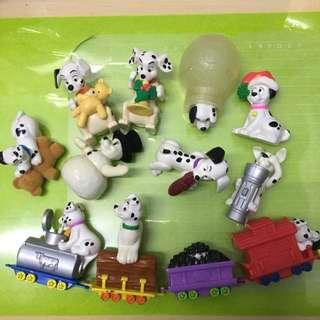 🚚 徵收 此系列101忠狗麥當勞玩具