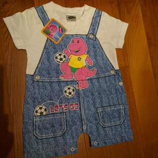 Brand New Barney Onesies / Rompers / Clothes