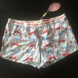 Brand New Peter Alexander Pyjama Shorts Size S
