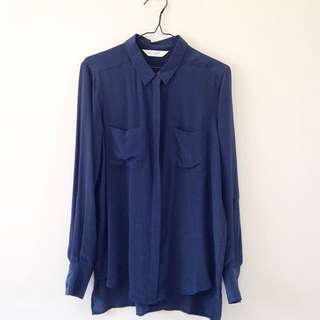 Seed silk shirt