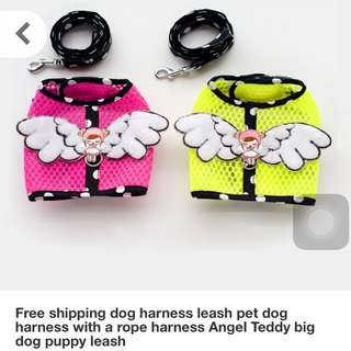 Small Pet Harness Leach With Rope