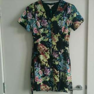 Yumi Floral Dress From Asos