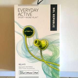 Sol Republic Everyday Active Headphones