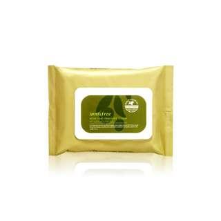 韓國Innisfree橄欖真萃保溼卸妝棉 30sheets
