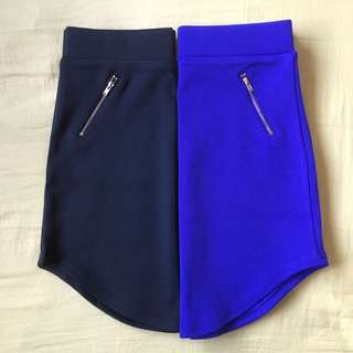 2 X Fitted Skirt