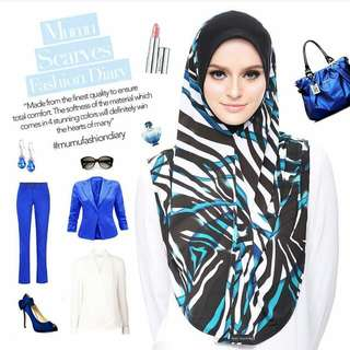 AVERY EXPRESS HIJAB - 1ST INSTANT SLIP IN SHAWL by MUMU SCARVES™!!  Preorder opens NOW!!!!