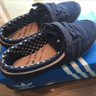 Adidas Causal Canvas, Sneaker Shoes Blue