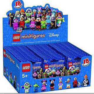 RESERVED-Lego Disney Minifigures (A Box Of 60pcs)