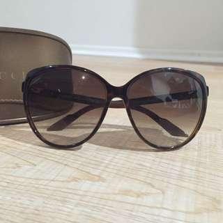 Gucci Tan Sunglasses