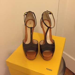 Fendi heels NEVER WORN
