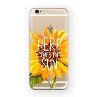 iPhone Case Here Comes The Sun for 5/5S 5C 6/6S Plus