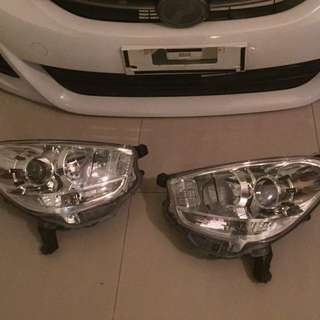 Myvi Lagi Best Headlamp With Bulbs