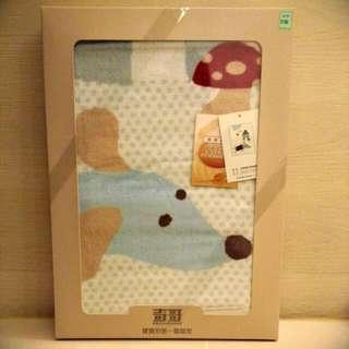 (含運)奇哥_嬰兒毛毯禮盒/彌月禮盒(全新) 市價1680元,附提袋