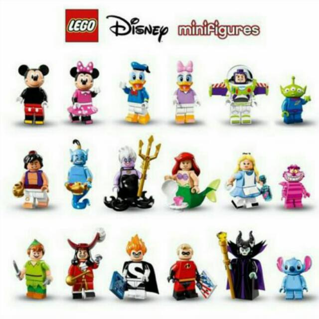 18pcs Disney Lego Minifigurines
