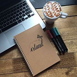 Personalised Calligraphy Notebook