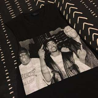 Tupac, Biggie And Dre Tank Size Small